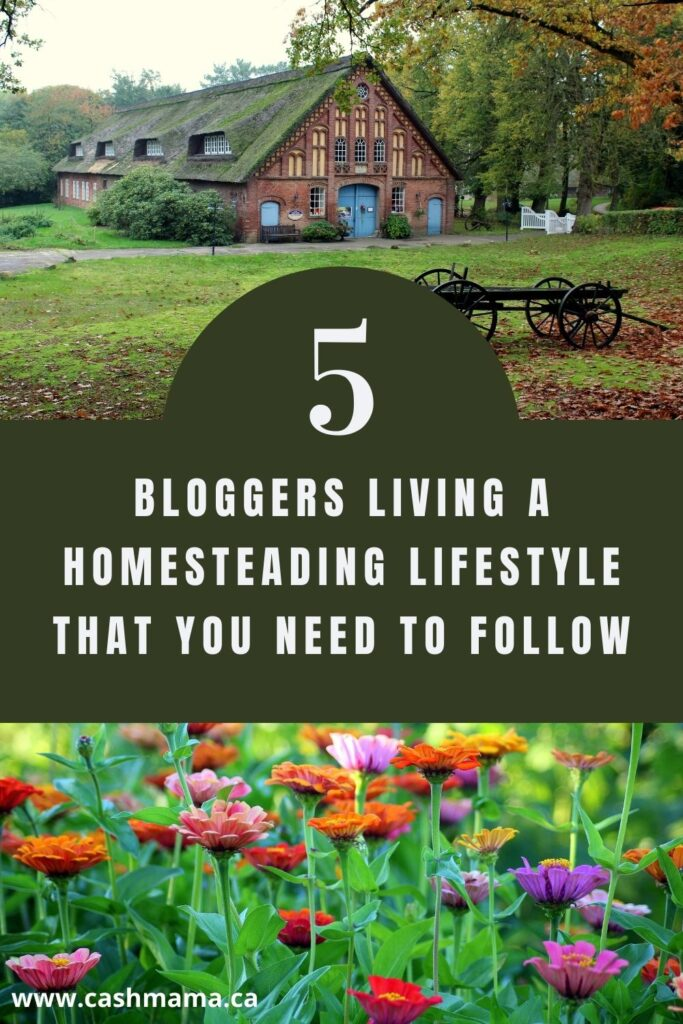 Bloggers living a homesteading lifestyle that beginner homesteaders need to know about